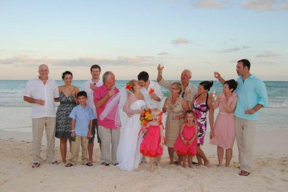 Family Wedding Shot